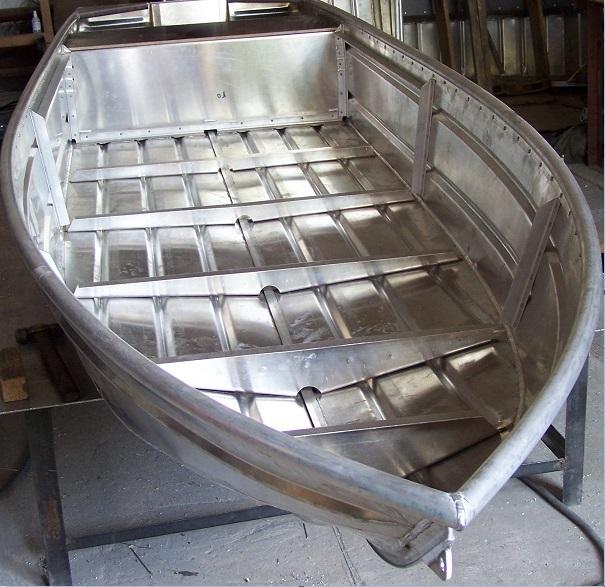Лодка без настила