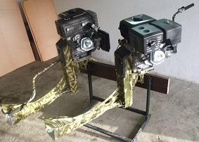 Лодочный мотор-болотоход КОМПАКТ