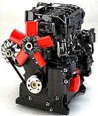 Дизельный двигатель Нью-Альфа с предкамерным впрыском топлива